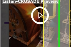 Step 3, Scroll down to reveal the CRUSADE Premium button.