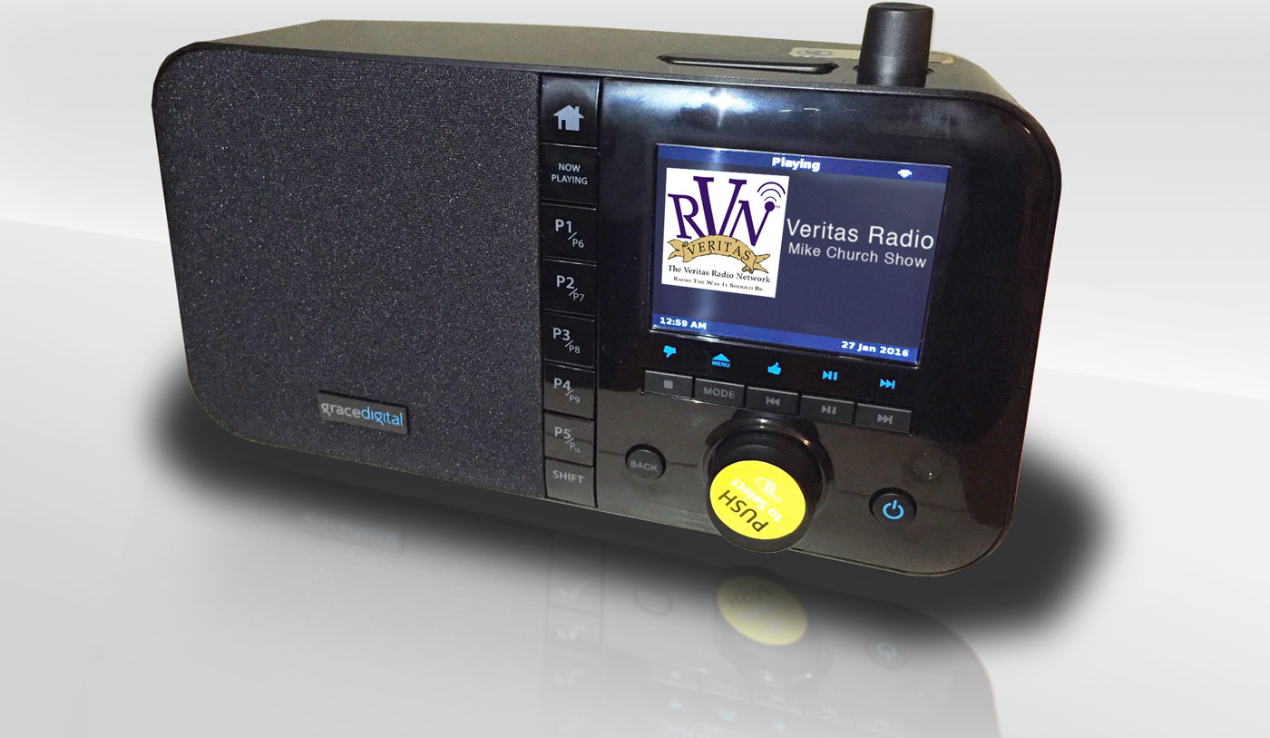Win A FREE, Grace Digital, MONDO Radio And Listen To CRUSADE at Home or Work!