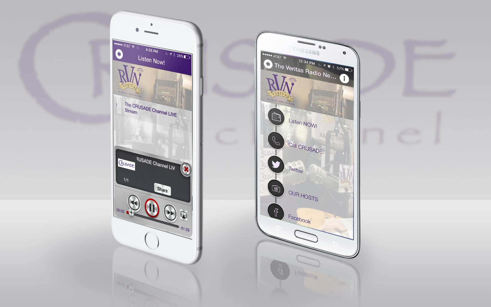 The Veritas Talk Radio Network Apps