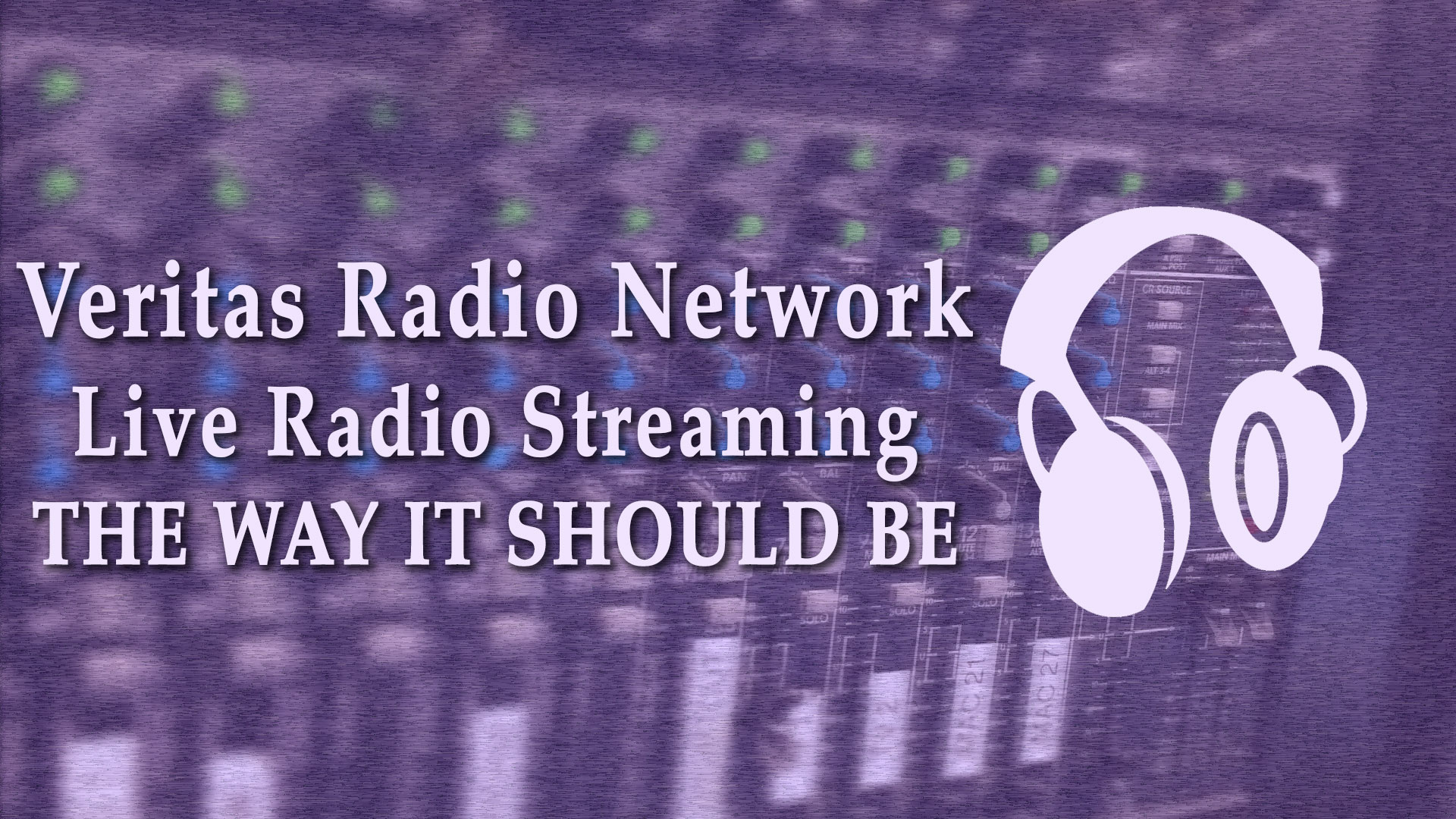 How To Become A Veritas Radio Network Affiliate Site
