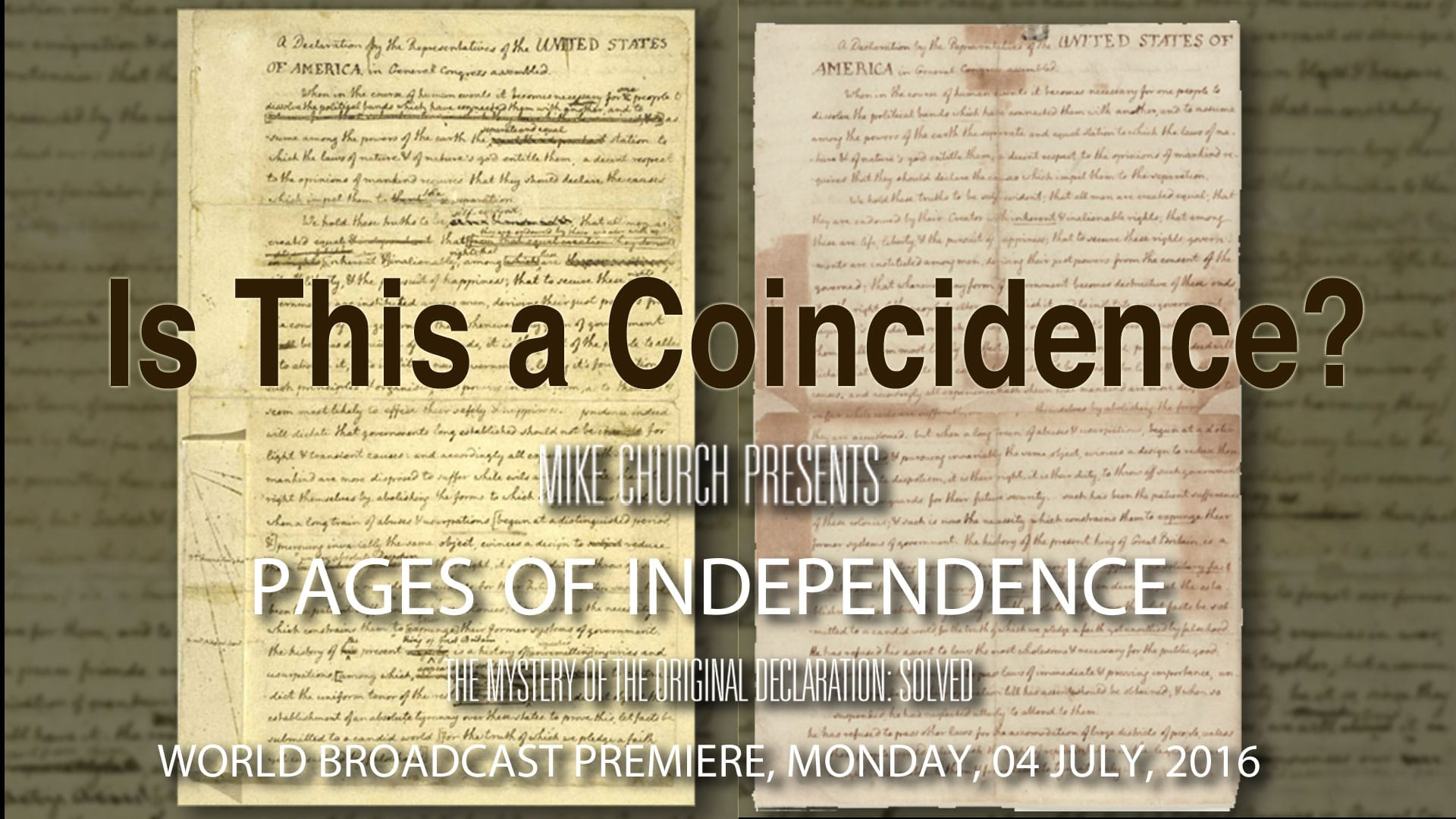 Pages of Independence-The Search For Jefferson's Original