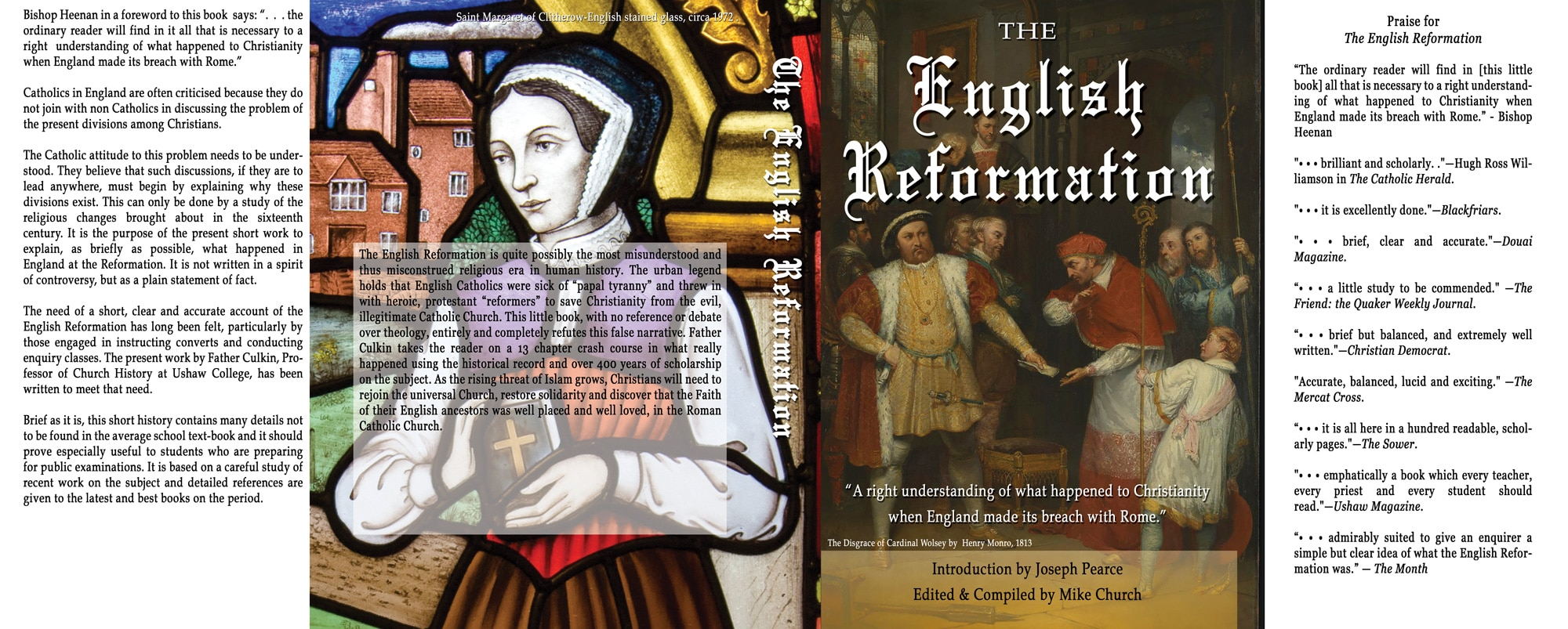Mike Church's New Book-The English Reformation-Pre-Order For Founder's Pass Members Only