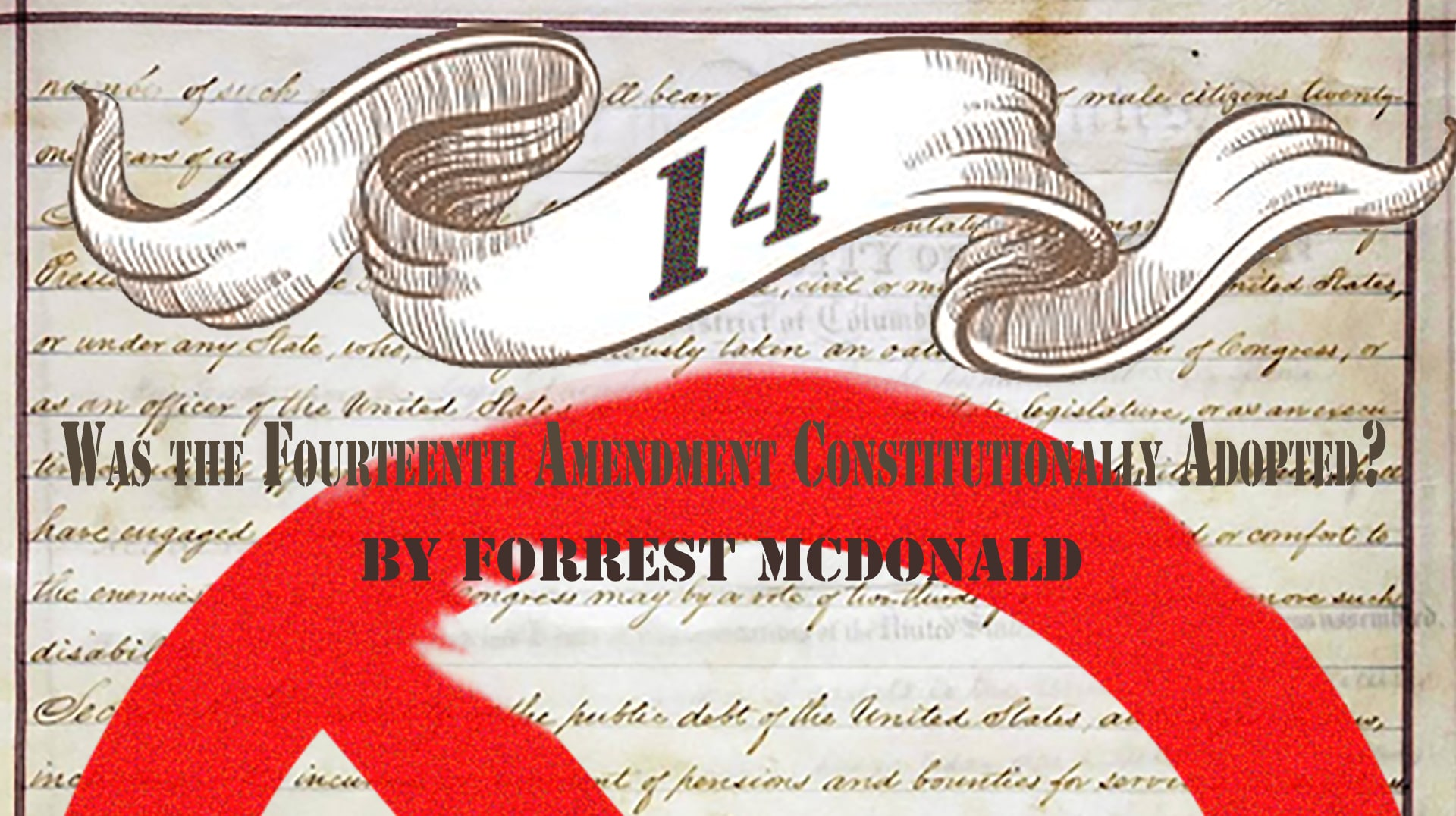 Founders Pass Free eBook Series 4: Was The 14th Amendment Constitutionally Ratified?