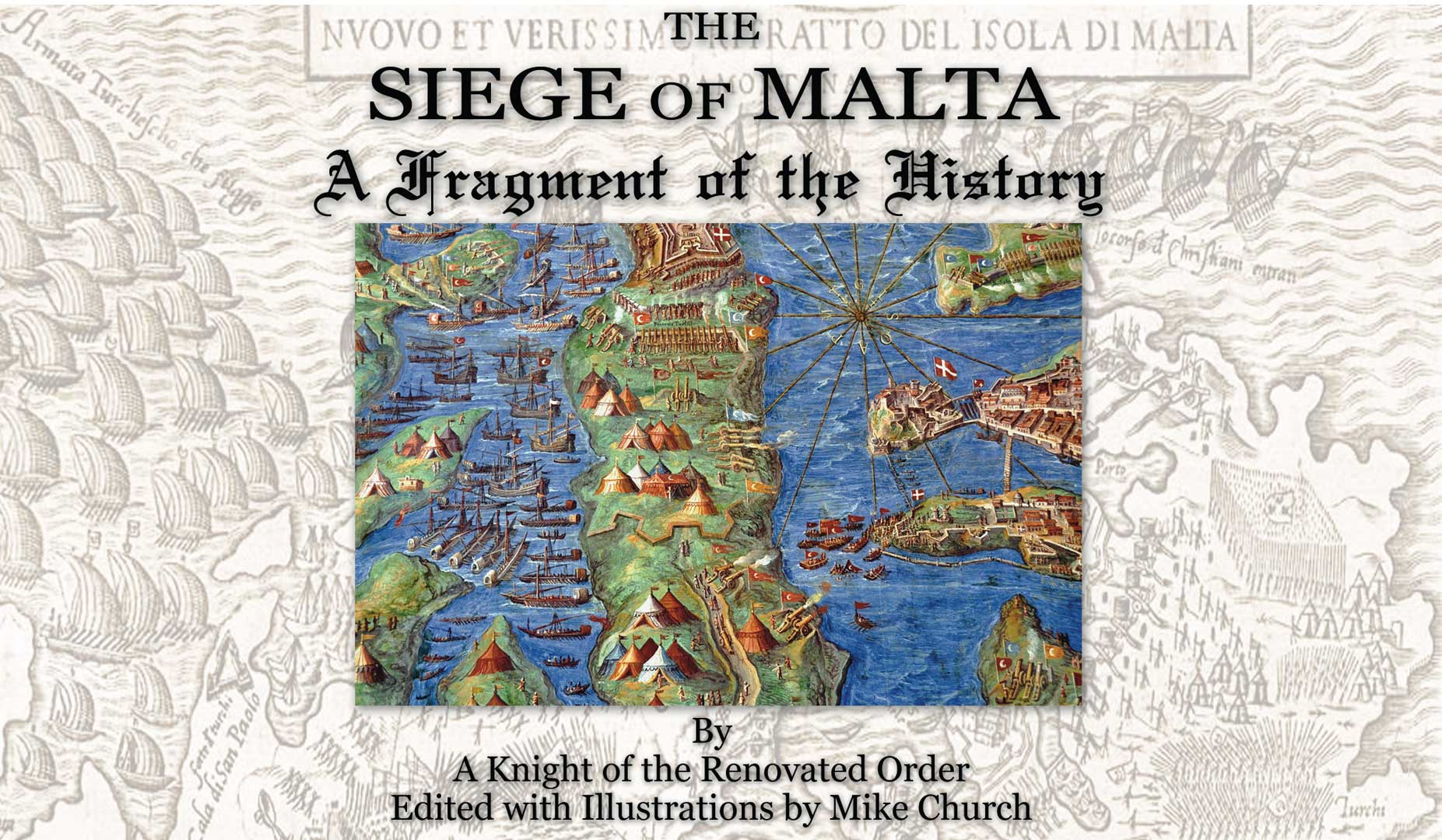 FREE! Founder's Pass eBook With Bonus Audio, Series 2: Siege of Malta, A Fragment of The History