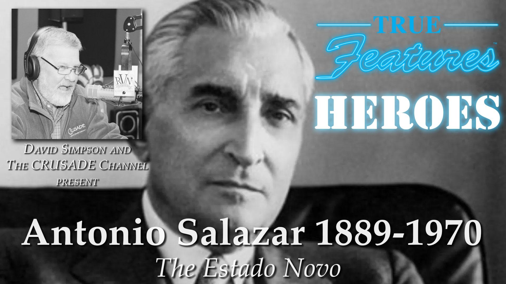 True Features Presents, David Simpson's HEROES Series-Antonio Salazar