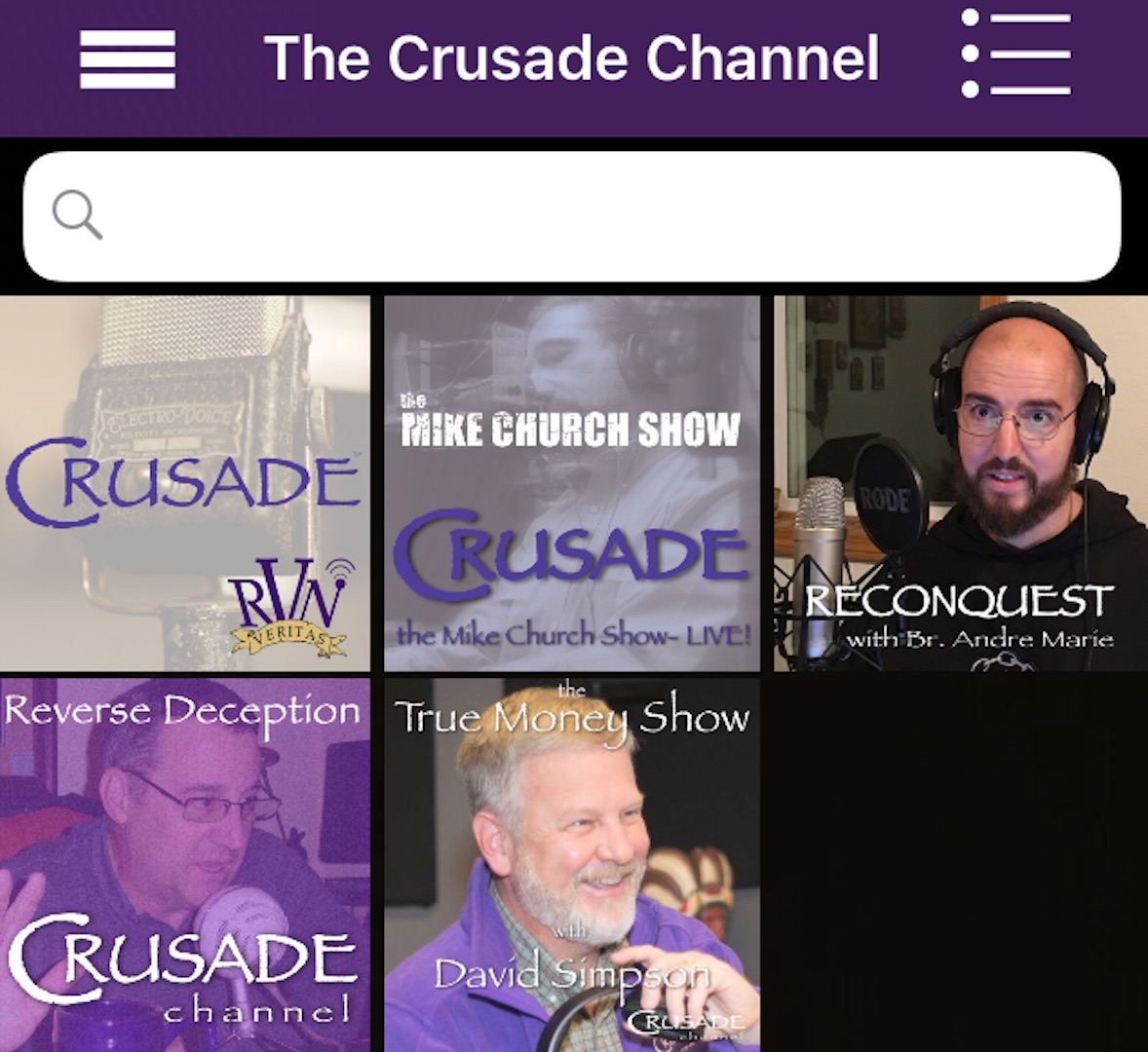 Introducing The Best New Way To Listen To The CRUSADE Channel: The CRUSADE Content App!