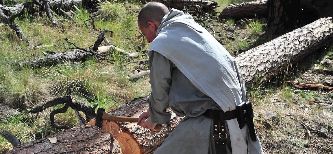 The Superhero Lives of The Monks of Silver City, New Mexico