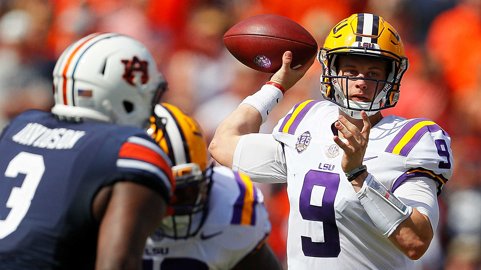 LSU Football jumps Alabama for the top spot in the AP-Top 25 Poll