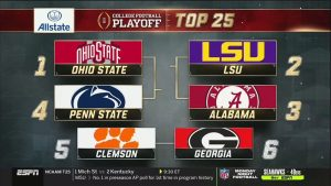 Sports Talk with Corey Clark - College Football Playoff rankings were released and they got it right...sorta