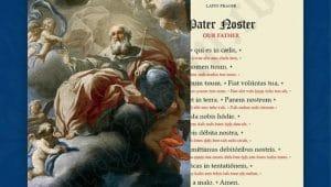 The Pray Latin Prayer Cards Company
