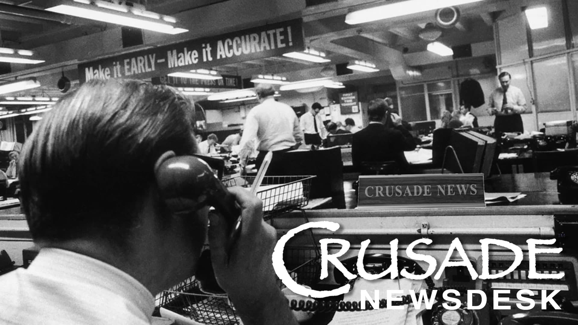 CRUSADE Channel Newscast March 23rd 2020