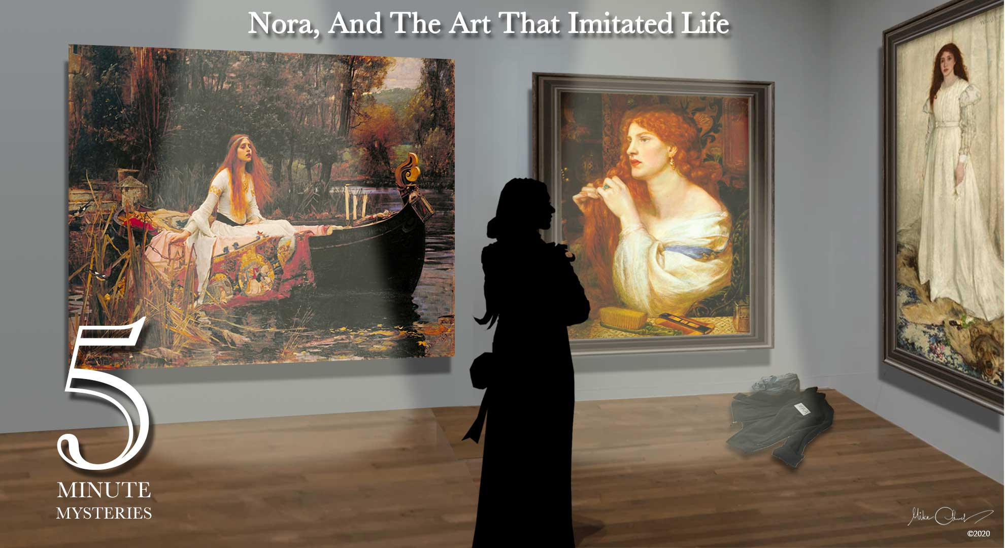 5 Minute Mysteries Season 2, Episode 3 - Nora, And The Art That Imitated Life