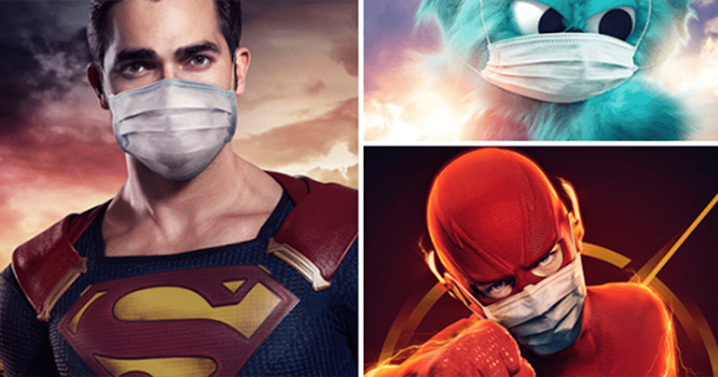 The CW Pushes Face Mask Propaganda Via Superheroes