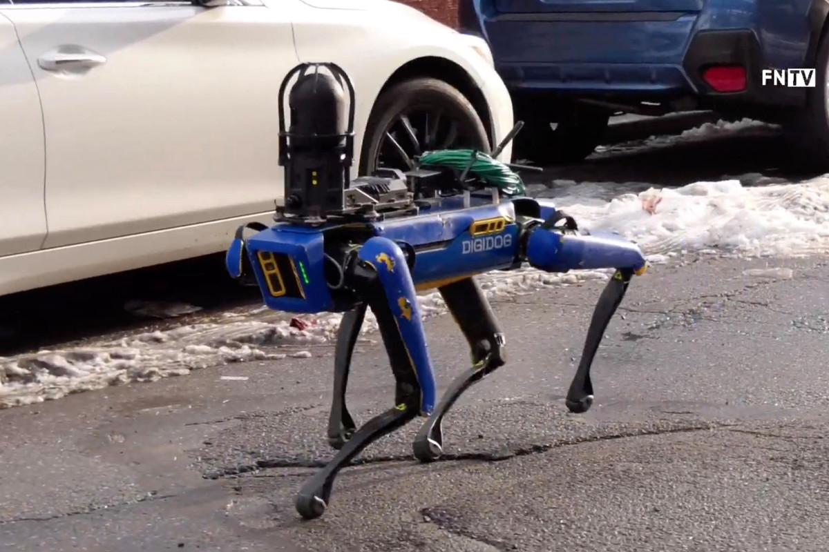 Robotic Dog Drones