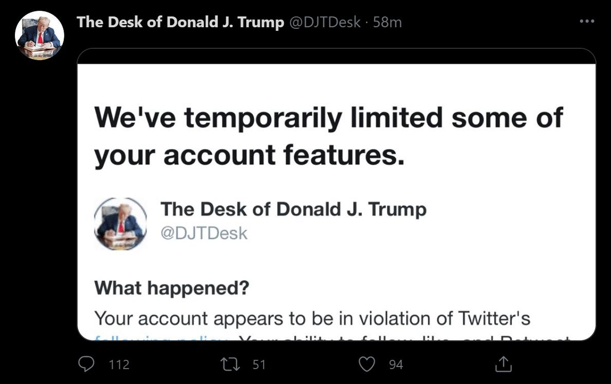 Trump Desk