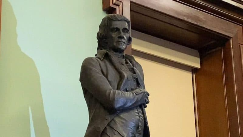Thomas Jefferson statue to be removed from New York City Hall after panel vote
